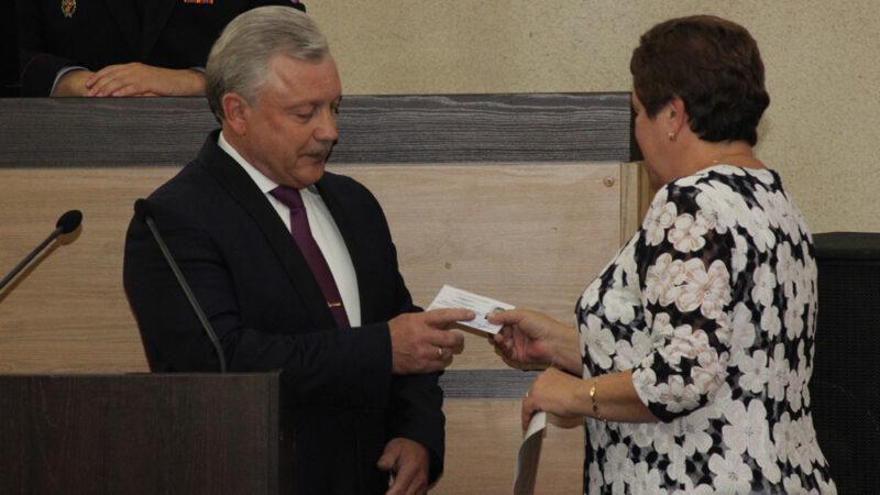 Инаугурация мэра Сергея Серебренникова
