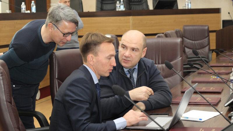 Второе заседание думы города Братска нового созыва